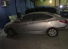 2016 Hyundai Accent 1.6, GCC  (ACCIDENT CAR)