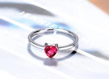 خاتم القلب(توصيل مجاني)