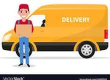 مطلوب سائقين توصيل  بسيارة