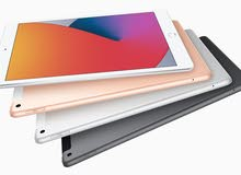 ipad 8th generation  ايباد 8 مع حامي شاشه مجاني