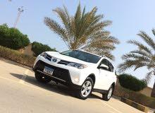 White Toyota RAV 4 2014 for sale