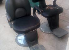 كرسي حلاقة مستعمله