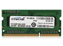 5 رامات لابتوب 2جيجا DDR3