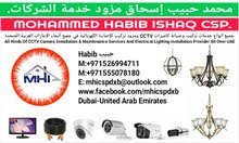 Chandelier Light Fixing and Clean Maintenance All Over UAE