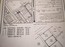 ارض سكنية للبيع صحار .مويلح