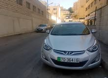 Grey Hyundai Elantra 2016 for rent