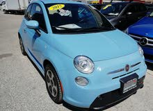 FIAT 500E ELECTRIC 2015   Baby blue