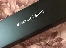 Apple  Watch Nike Series 4 44mm ( Esim ) GPS & Cellular  ساعه ابل نايك اصدار 4 الحجم الكبير 44