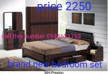 غرفة نوم كلاسيكية كينغ مجموعة للبيع