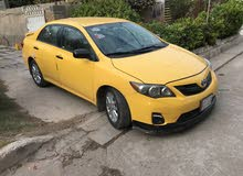 Yellow Toyota Corolla 2009 for sale