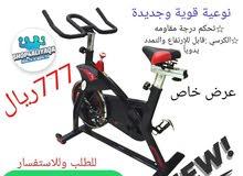 دراجة هوائية ثابته نوعية قوية جديدة مع الضمان كان سعره 999ريال