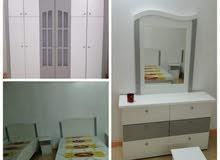 غرف نوم جديده توصيل تركيب  باسعار مناسبه للجميع