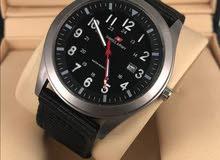Swiss Army watch جديده يوجد اللوان متعدده