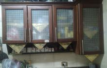مطبخ خشب قطعتين. بالرخام مقاس 1.6
