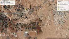 ارض للبيع طريق المطار مساحه 4دونمات بالقرب من شارع عمان التنموي مخدومه بسعر 25الف الدونم