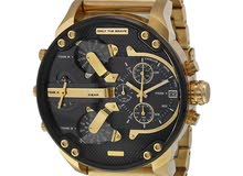 Diesel DZ7333 All Gold and black Big Daddy Watch