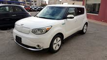 KIA  SOUL EV PLUS  2015 WHITE كلييين تايتل