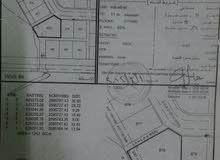 ارض 1243م للايجار في صناعية بوشر