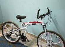 دراجة هوائية جبلية ... وقابل للكسف ... الرجاء قراءة التفاصيل كاملة