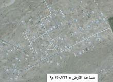 أرض تجاريه في صحار مربع العوينات  السادس  للبيع
