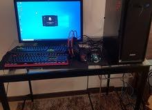 بيسي جيمنج مع كل الاغراض PC gaming