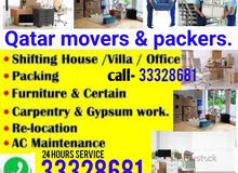 Qatar movers & packers. Whatsapp & contact on-.Moving and packing servic