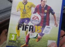 لعبة fifa 15 ps4  بسعر 2000 ريال فقط