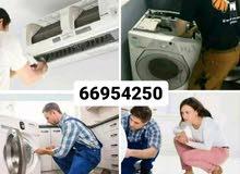 Washing machine and dryer repairing workshop