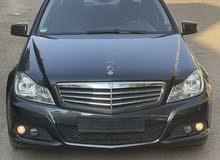 مرسيدس بنز c180 موديل 2012 معاقين للبيع