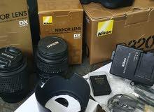 كاميرة نيكون 3200D