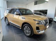 Nissan Patrol Platinum 2020 (Gold)