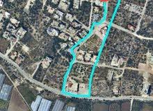 ارض للبيع من المالك مباشره مساحة 620 متر ، مستوية، صافي 500 متر بناء تقع على شار