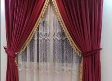 New Curtain making and Fixing Service Available