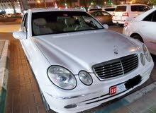 سيارة مرسيدس 2006  E280 خليجي رقم واحد كامله