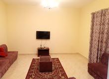 غرفه وصاله مفروشه للايجار الشهري في عجمان شارع المينا 2800 مع الانترنت