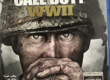 Call of duty ww2 ps4 cd // it's clean and it comes whith code