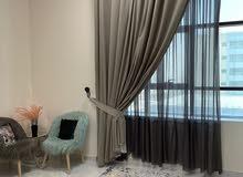 ستارة فندقية سوبر كولتي قماش اسباني مستعمل جديد ستايل مودرن