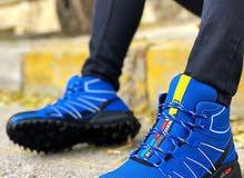 حذاء سبور جلد طبيعي وشامواه