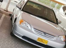 Honda Civic 2003 For sale - Silver color
