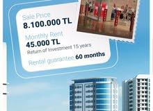 محلات تجارية بتركيا مع ضمان دخل ل 6 سنوات