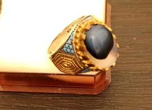 misbaha and ring original stone