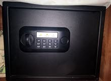 black safe box