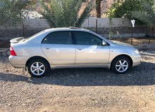 For sale 2006 Gold Corolla