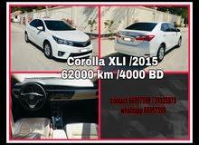 Toyota corolla XLI 2015 model for sale