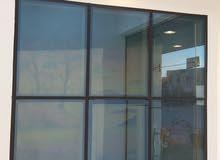 نوافذ درايش شبابيك upvc و curtain wall