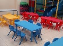 تجهيز حضانات وروضات أطفال ماسه
