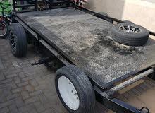 double axel heavy duty trailer urgent selling