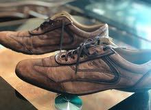 حذاء جلد الماني