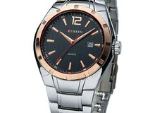 Curren Silver Band Analog Watch For Men - M8103