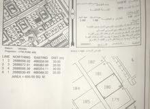 للبيع ارض في ولاية صحار منطقة مويلح المربع السابع